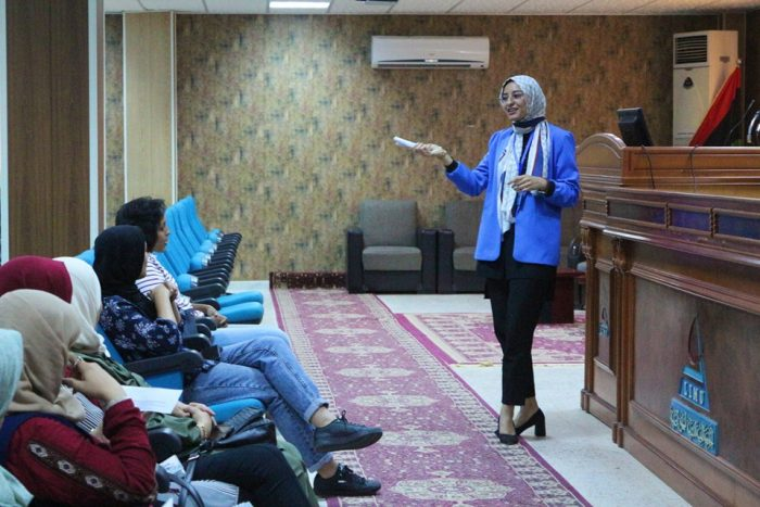 The Faculty of Pharmacy Continues to Train Pharmacists Working at Benghazi Medical Center